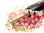 25 роз+ бутылка шампанского в подарок!