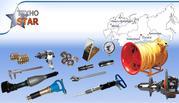 Отбойные молотки,  пики,  бетоноломы и прочий пневматический инструмент.