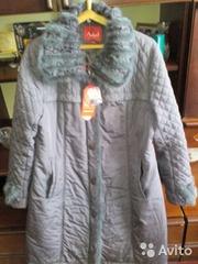 Демисизоннее классическое пальто 48-50 размера