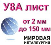 Полоса У8А лист от 2 мм до 150 мм